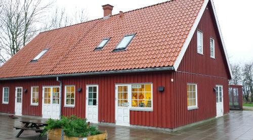 Natursamarbejdet i Brabrand indgår i skolehaveprojektet med gode facilliteter. . Foto: Ulla Skovsbøl