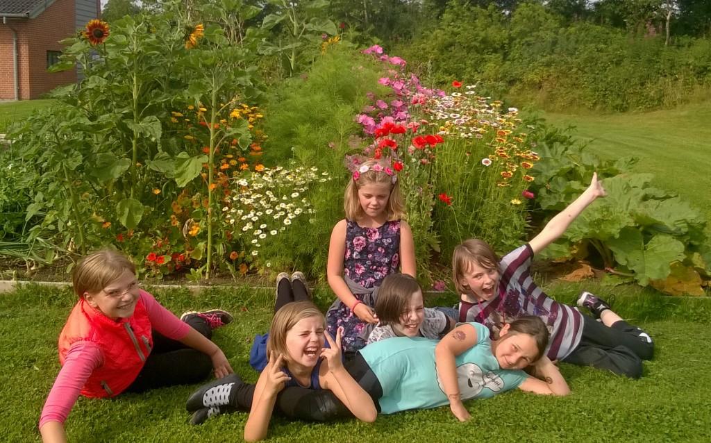 Haven på Kanten af Skoven i den midtjyske landsby Sdr. Vissing er populær hos de lokale børn. Foto: Randi Beirholm