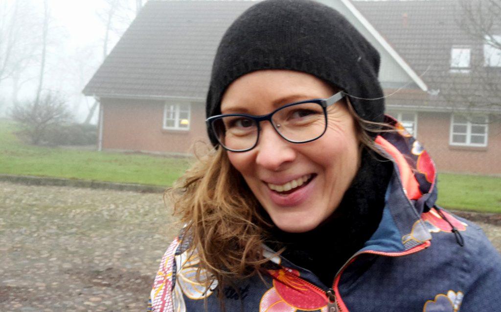 Helle Bojsen, agronom og lærer på Gråsten Landbrugsskole gennem otte år, er den nye leder af Haver til Maver i Gråsten. Foto: Ulla Skovsbøl